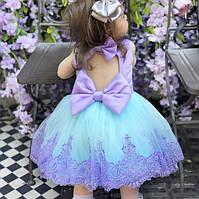 Красивейшее нарядное пышное платье для девочки (на фотосессию, на день рождения)