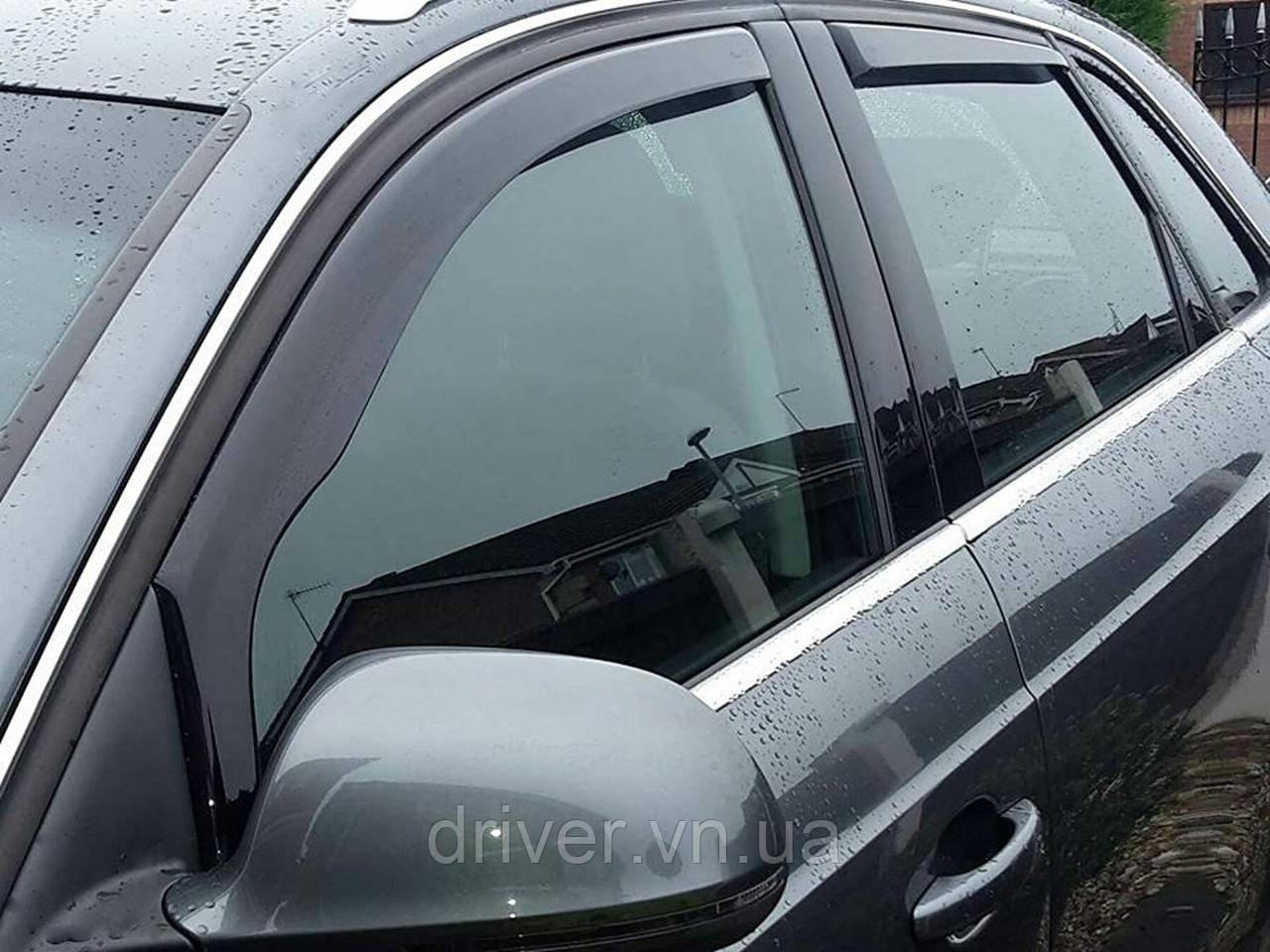 Дефлектори вікон вставні Audi Q5 2009 -> 5D