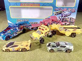 Игровой набор Трейлеры с спортивными машинками №1