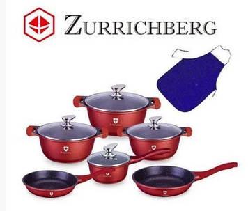 Набор Кухонной посуды Zurrichberg ZBP 7007, 11 предметов