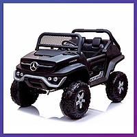 Детский электромобиль Mercedes benz c пультом Bambi M 4133 EBLRS-2 черный | Дитячий електромобіль Бембі чорний