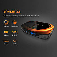 X3 TV Box Amlogic S905X3 Android 9, Dual WiFi, 1Gbit LAN, BT4.0
