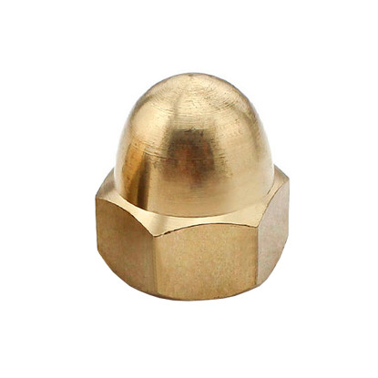 Гайка колпачковая латунная MMG DIN 1587  M8  1 шт