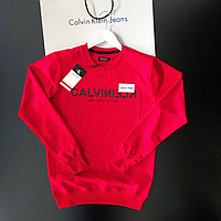 Толстовка мужская свитшот красный