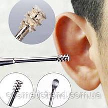 Инструмент для чистки ушей кюретка косметологическая профессиональная (1 шт.), фото 2