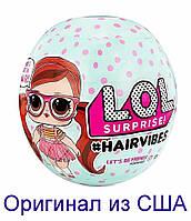 Кукла ЛОЛ со сменными париками L.O.L. Surprise! Hairvibes Dolls 15 Surprises 564751