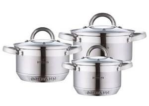 Набор Кухонной посуды Bohmann BH 0715, 6 предметов