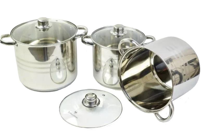 Набор Кухонной посуды Zurrichberg Kochgeschirr, ZBP-7018, 6 предметов