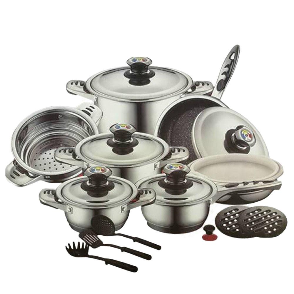 Набор Кухонной посуды Zurrichberg ZBP 7026, 19 предметов