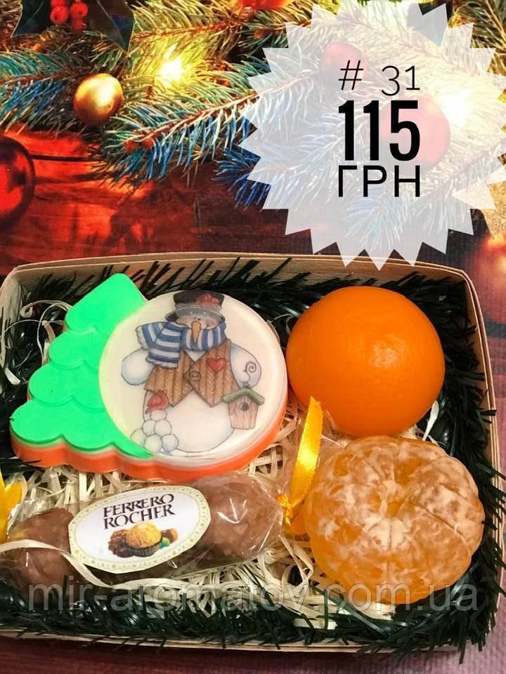 Новогодние наборы мыла ручной работы№31