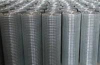 Сетка сварная рулонная оцинкованная 16х16 1х30 диаметром 1,2 мм