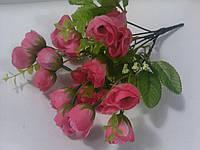Букет розочек розовых 30 см, фото 1