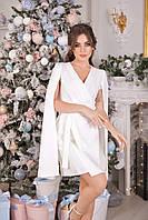 Женское красивое платье с необычными рукавами
