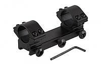 Моноблок для оптического прицела, крепление Weawer с ключом шестигранником в комплекте