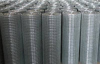 Сетка сварная рулонная оцинкованная 16х16 1х30 диаметром 1,4 мм