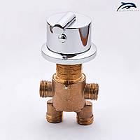Змішувач, перемикач для гідромасажної ванни, джакузі J - 7002.