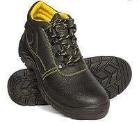 Высококачественная рабочая обувь из коровьей кожи со стальным носко