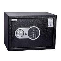 Сейф мебельный БС-20Е с взломостойким электронным замком 20х31х20см.