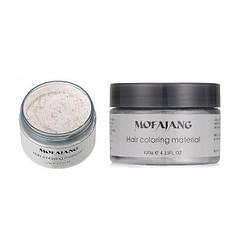 Окрашивающий воск для волос Mofajang Белый hubLtlJ66037, КОД: 295405