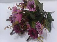 Букет ромашек сиренево-розовых 31 см, фото 1