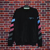 Модный Свитшот Off-White business casual black (ТОП реплика)