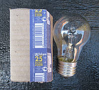 Лампа накаливания 25 Вт Е27 (в упаковке 100 шт)