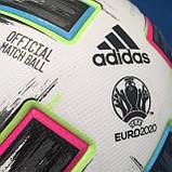 Мяч футбольный Adidas Uniforia Euro 2020 OMB FH7362 (размер 5), фото 7
