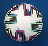 Мяч футбольный Adidas Uniforia Euro 2020 OMB FH7362 (размер 5), фото 4