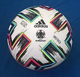 Мяч футбольный Adidas Uniforia Euro 2020 OMB FH7362 (размер 5), фото 2