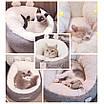 Лежанка для собаки кошки beautiful мягкий лежак премиум качество глубокая, фото 7