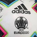 Мяч футбольный Adidas Uniforia Euro 2020 OMB FH7362 (размер 5), фото 8