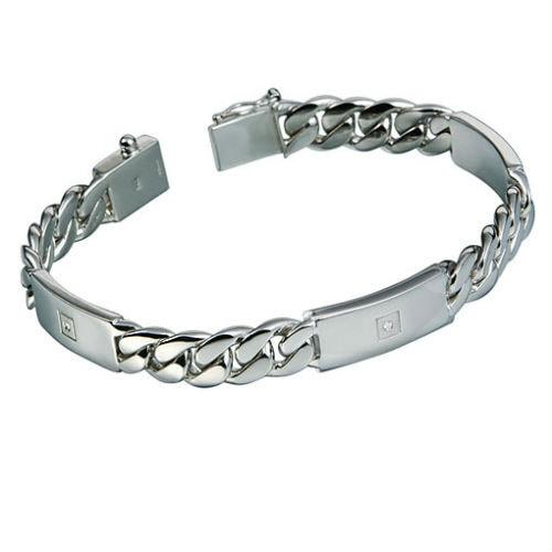 Серебряные браслеты мужские