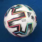Мяч футбольный Adidas Uniforia Euro 2020 OMB FH7362 (размер 5), фото 5