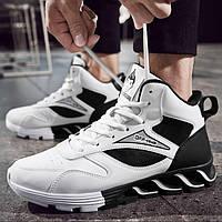 Теплые мужские кроссовки. Модель 8354, фото 3