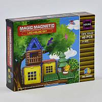 Конструктор магнитный JH 8863 (48) Кукольный Домик на дереве, 40 деталей