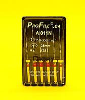 ПроФайлы ProFile Maillefer №25, 04, 25мм, 6шт.