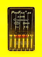ПроФайлы ProFile Maillefer №35, 04, 25мм, 6шт.