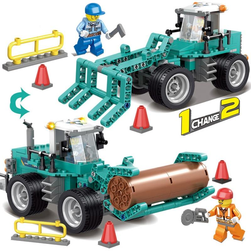 Конструктор Kazi 80456 2в1 Lego city Лего сити