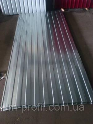 Профнастил ПС-8 оцинковка 0,50мм