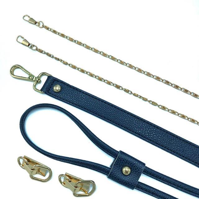 Золото синий фурнитура для конструктора Торбочка из трикотажной пряжи