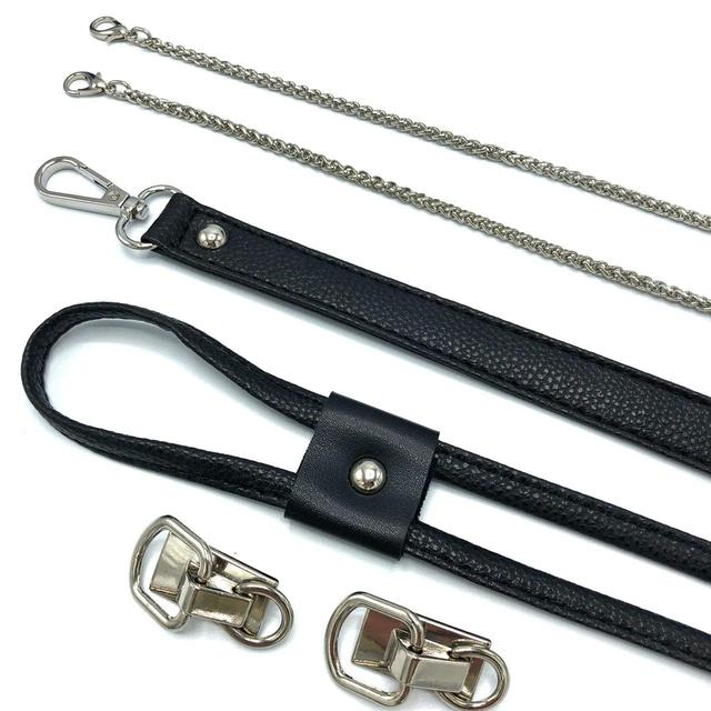 Серебро черный фурнитура для конструктора Торбочка из трикотажной пряжи