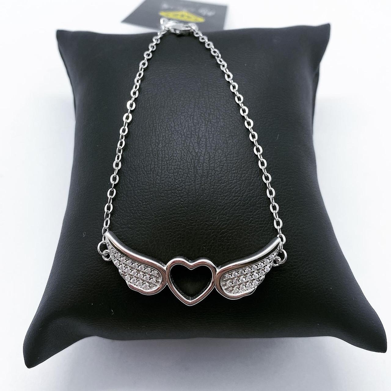Браслет My Jewels из серебра 925 с сердечком
