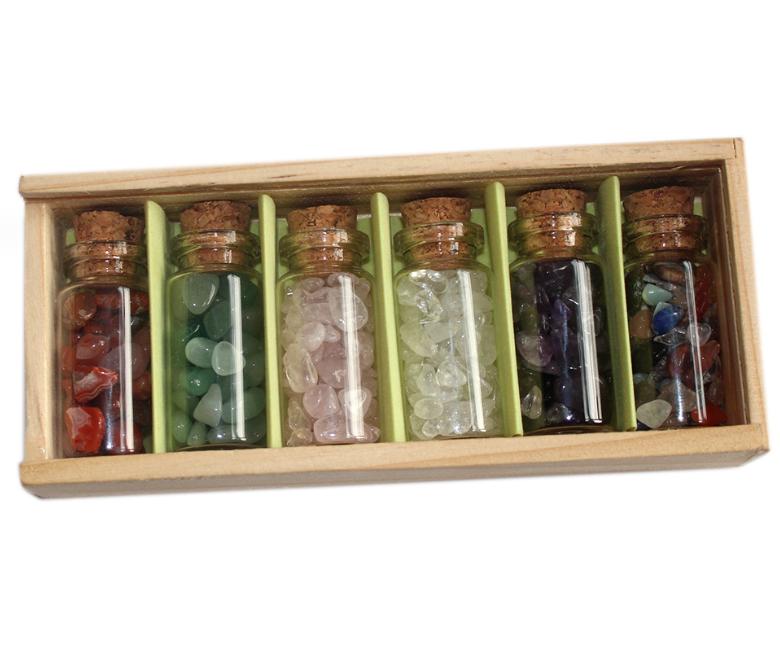Коллекция камней в шкатулке «Горные породы и минералы» (2568)