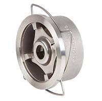 Клапан обратный межфланцевый пружинный Genebre 2415 Ду 100