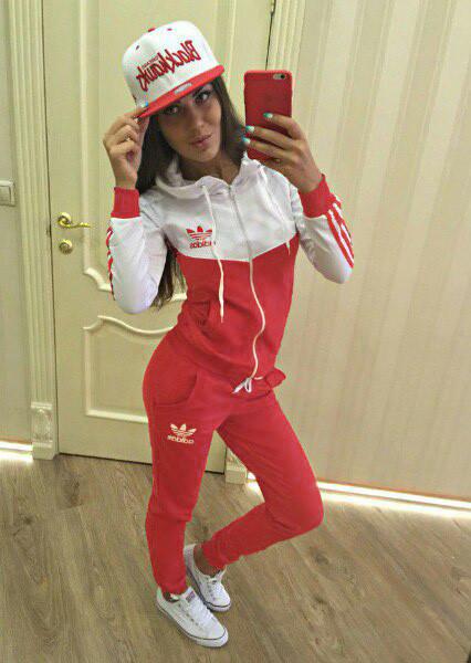 Спортивные костюмы женские красные доставка