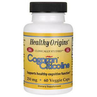 Healthy Origins, Cognizin Citicoline, Ноотроп  250 mg, 60 капс
