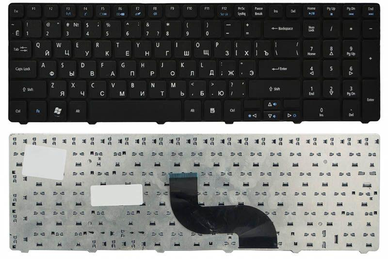 Клавиатура для ноутбука Acer Aspire 5338 5410T 5536 RU Black (9Z.N1H82.Q0R)
