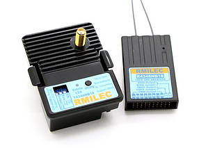 Комплект LRS RMILEC T4346NB18-J/R4346NB18 UHF 430-460MHz 2W 18 каналов  (модуль JR)