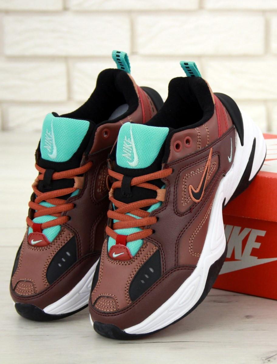 Женские кроссовки Nike M2K Tekno Dark Red