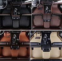Коврики Mercedes GLE W166 из Экокожи 3D (2012+), фото 1